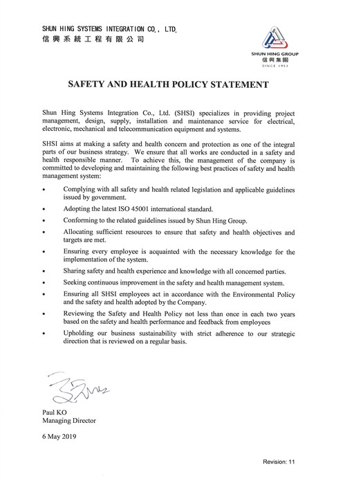 Safety Policy Rev 11 Eng